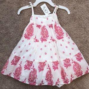 Children's Place Paisley Summer Dress 12-18 m NWT